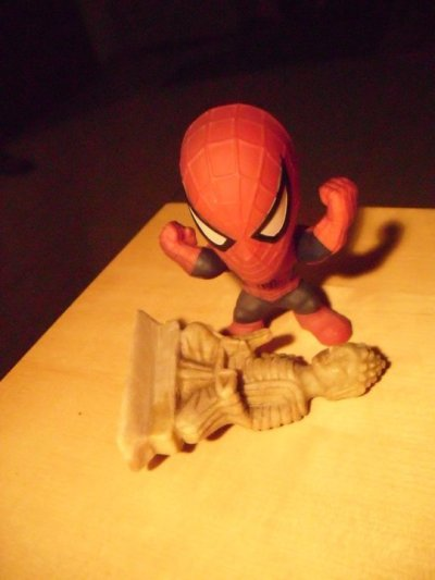 Spiderman V.S. Buddha(Courtesy of Edward Heard) 11/11/2010