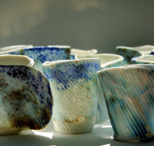 Margrieta Jeltema: Folded cups (detail)