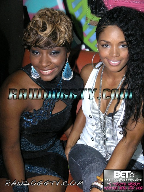 Rasheeda and Princess (formerly of Crime Mob) at BET's My Mic Sounds Nice Panel Discussion last summer. Read more about the panel HERE. Bossy.