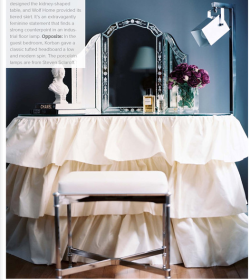 thedecorista:  the perfect vanity a la trad home