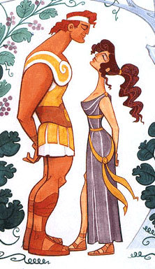 fuckyeahdisneyconcept:  Hercules Source: Dead geocities site