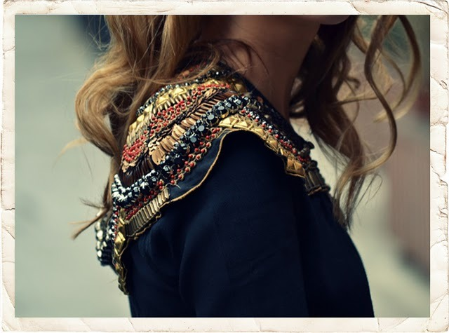 Beaded Zara cape