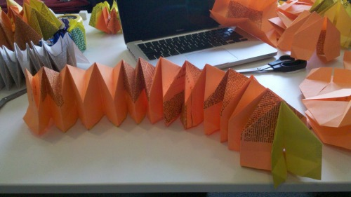 My job is origami fireworks, pt.3