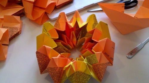 My job is origami fireworks, pt.5