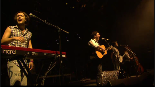 Mumford & Sons at Coachella.  Wish I was there.