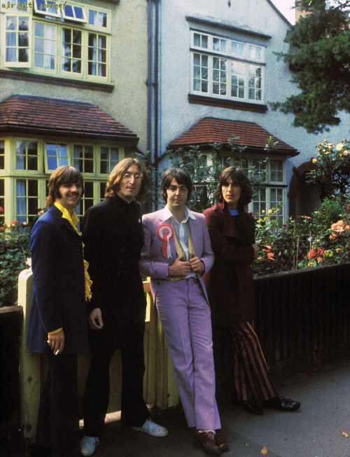 alrightgeorge:  ★SCAN 〜 The Beatles 1968