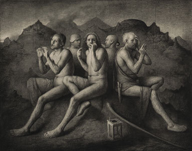 Five Namegivers  Odd Nerdrum 1994