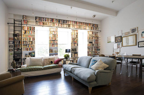 myidealhome:  books and windows