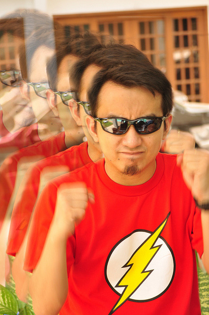 flash on Flickr.Sheldon Cooper Wannabee…