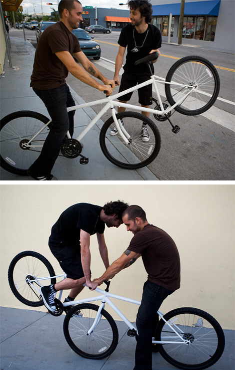 Seesaw (Tatter Totter) Bike is WIN!  WIN McGee!
