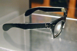 socialcaterpillar:  buddy holly's broken glasses.  This put a chill through me.