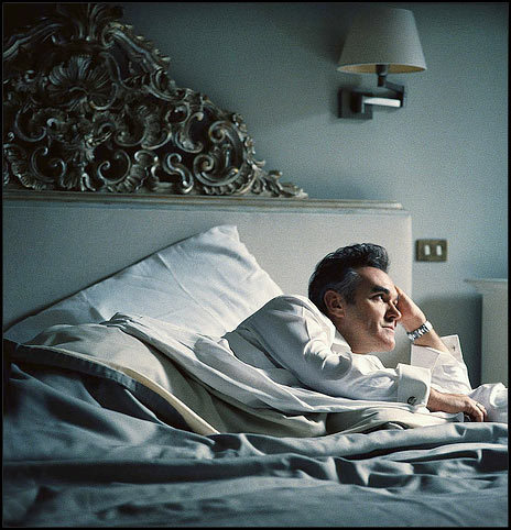 In bed with Morrissey