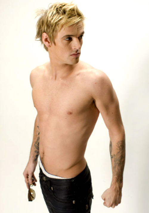 Aaron Carter (photo shoot)