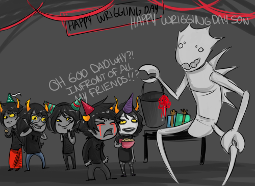 For all my 101 followers >:] Gamzee, yet again, what are you looking at. >:?