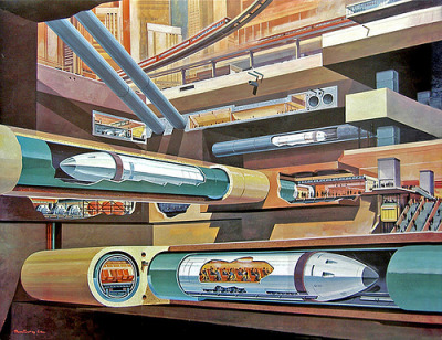 apolonisaphrodisia:  1969- tube trains under city - Klaus Burgle (par x-ray delta one) Certains droits réservés cc by-nc-sa