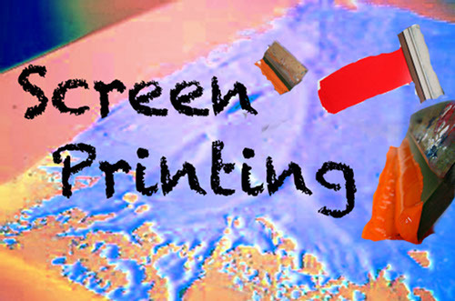 Screenprinting Workshop Sunday 17th April, 2pm Forest screenprinting workshop, friendly and open for everybody interested Suitable for beginners Bring your own cutter/stanley knife