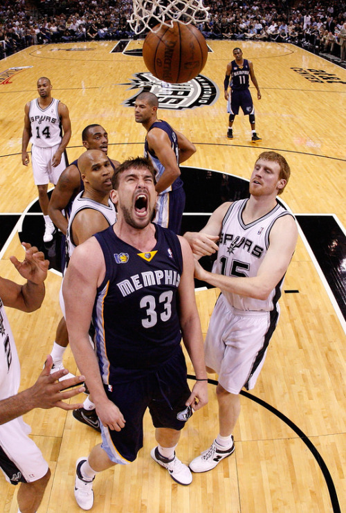 Marc Gasol hyped up