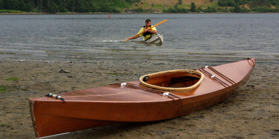 Cape Falcon Kayaks. Skin on frame kayaks with sustainability in mind.