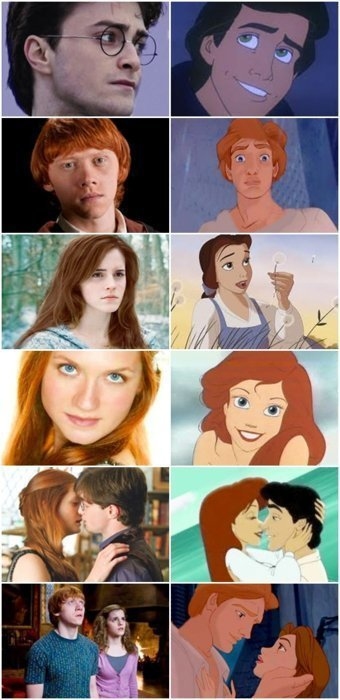 Harry Potter meet Disney!
