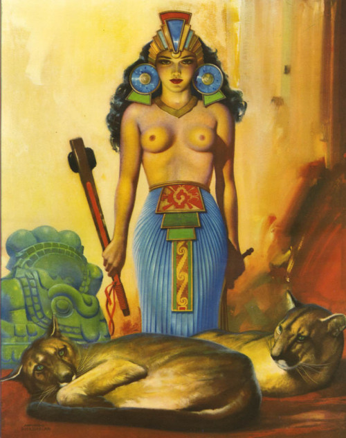 """Xochitl"" by Armando Drechsler 1940's"