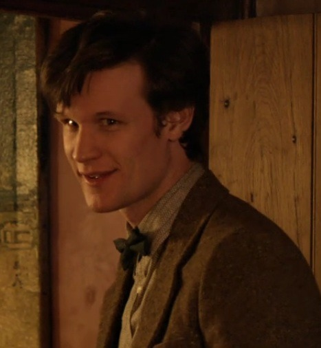 Matt Smith does make cute faces? He certainly does.