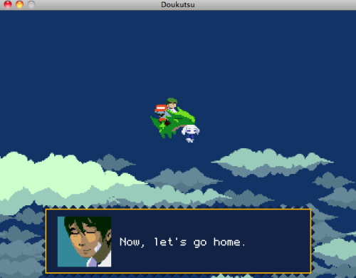 Just beat Cave Story for the first time. I can't tell you how much fun it was!