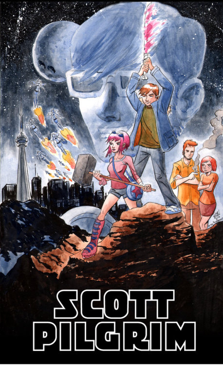 Scott Pilgrim Wars ~ Joe Bowen