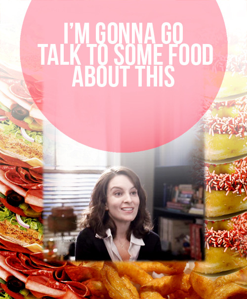 Crack!Ship: Liz Lemon/Food, requested by mdubs