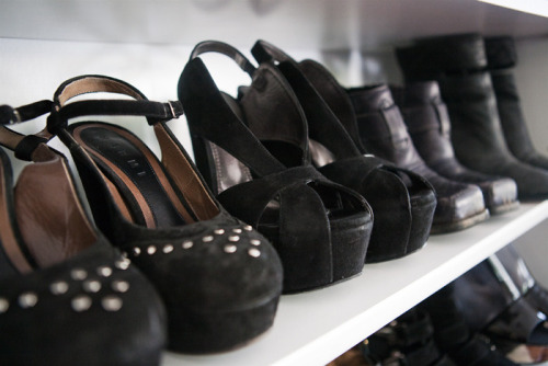 Ideal shoe closet
