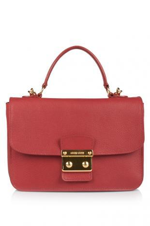 Miu Miu Madras Top Handle