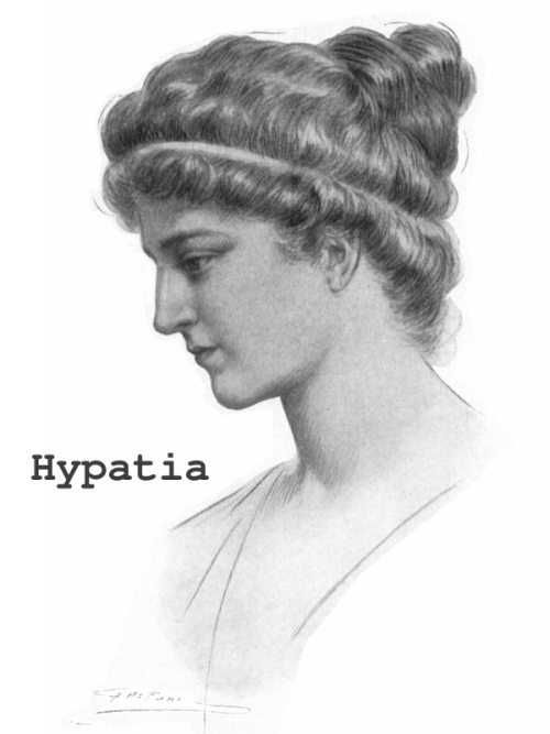 Hypatia of Alexandria Thanks to PhrenicGermal