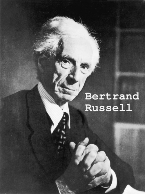Bertrand Russell Thanks to PhrenicGermal