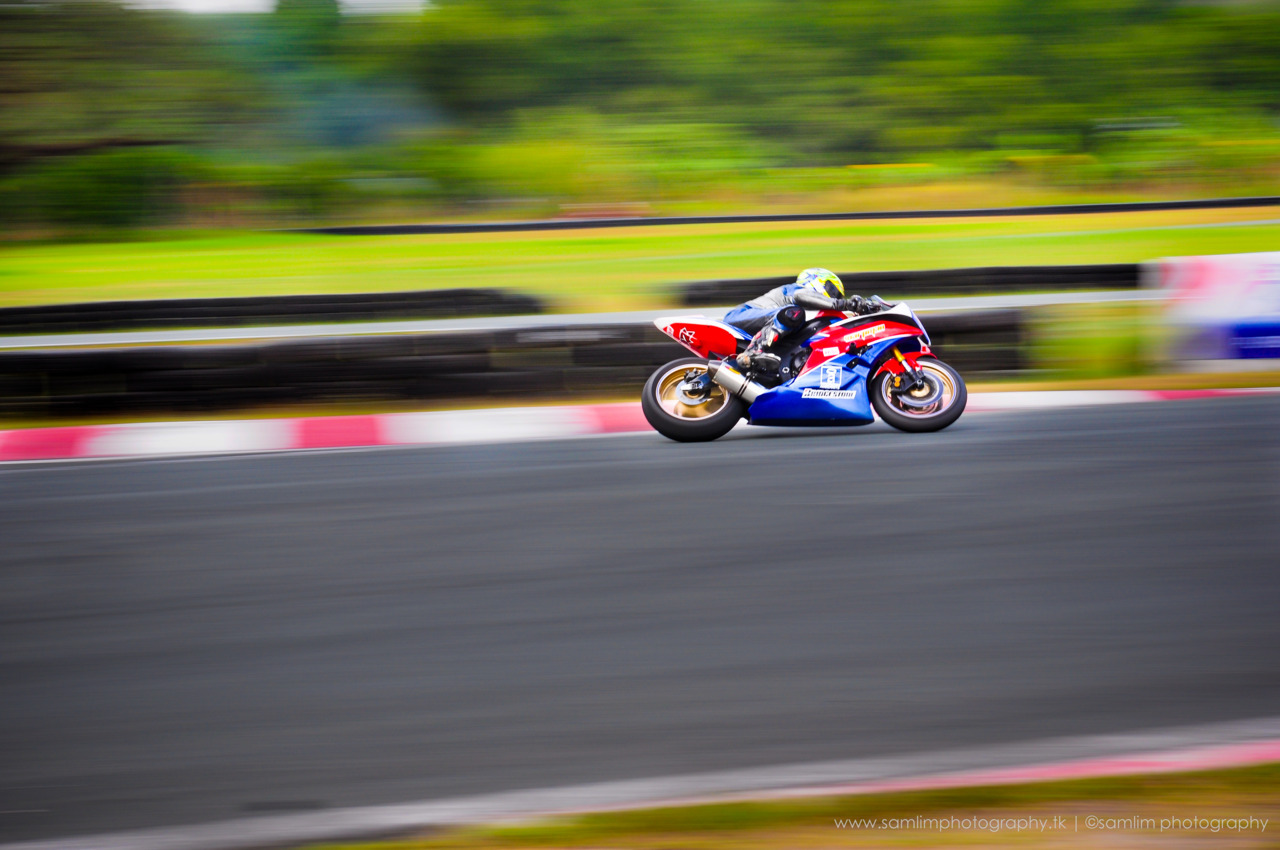 Another panning shot of a motorcycle racer from Clark, Pampanga Racing Circuit