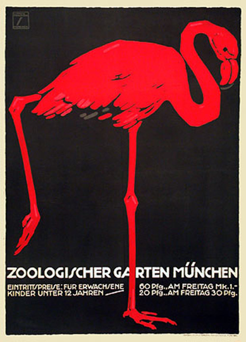 30 incredible vintage zoo posters