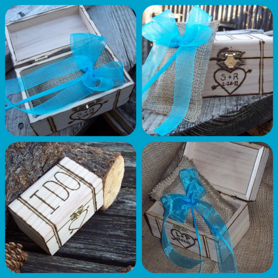 Monday Giveaway: Personalized Ring Box from Go Rustic! Entering is easy (and fun!).
