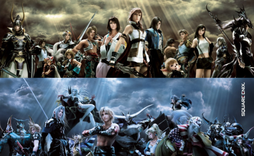 Dissidia 012 characters === By the way, thanks to my new followers! :D
