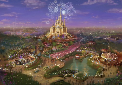 Concept art for the Shanghai Disney Resort!