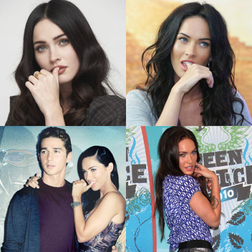 "It has recently come to my attention that perhaps Megan Fox isn't always biting her thumb to be seen as ""sexy."" It might be that she's trying to hide her toe thumb and ensure that no one can get a good photo of it."