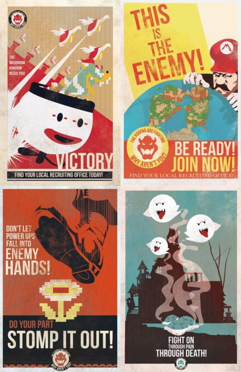Old school propaganda.