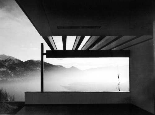 Richard Neutra's Casa Ebelin Bucerius - Switzerland 1966
