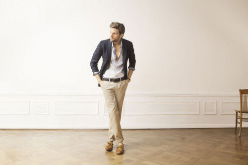Smooth Sailing by Massimo Dutti S/S'11
