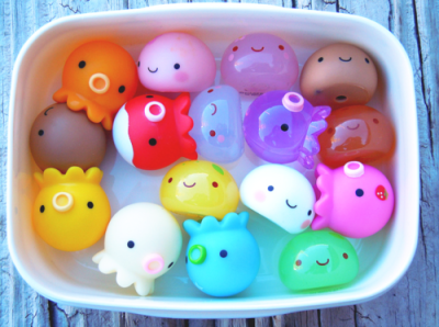 Cute little toy blobs! :)