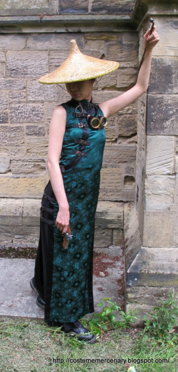 Asian inspired steampunk. Love!