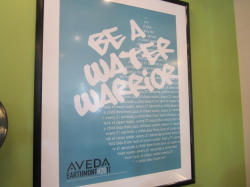 AVEDA WALK FOR WATER EVERY 21 SECONDS A CHILD DIES FROM LACK OF CLEAN WATER The Aveda walk for water  happens in cities all over the world during Earth Month to raise  awareness and funds for clean water organizations. The length of each Aveda walk is 6 kilometers  because that's the average distance women in developing nations have to  walk every day for clean water. source: United Nations Human Development Report, 2008 JOIN OR LEARN MORE…