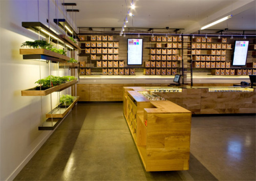 """The Apple Store of pot"" according to SFist: a Medical Marijuana Dispensary has won a 2011 AIA San Francisco design award. More."