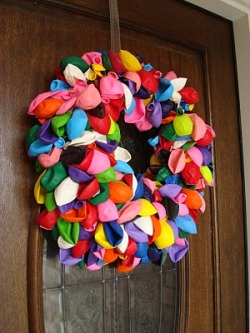 What to do with your balloons?? Off course you can do this with used balloons!!!