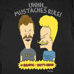 unicornholio:  Oh heavens… they're hipsters. xD  Moustaches are awesome.