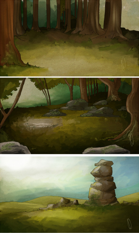 Few more of my backgrounds done today. I hope you're not bored of them yet, I still have about 8 more to do xD