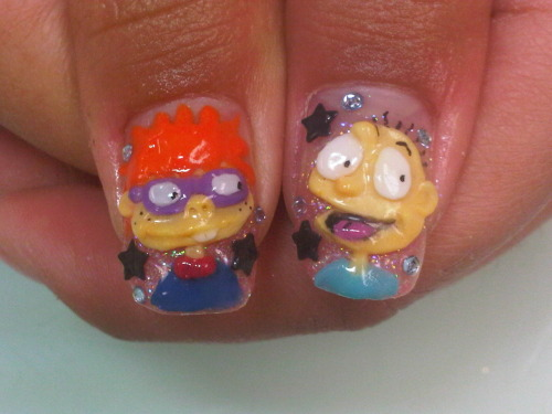 MY RUGRATS NAILS! :D
