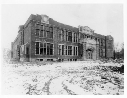 Central Collegiate under constructionLondon, ON1921-1922London Public Library - London Room [where I went to high school up until last June!]